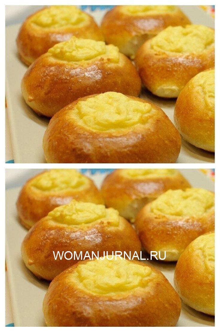 Уральские шаньги с картофелем