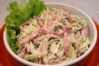 Вкусный и легкий салат — готовим за 5 минут 1