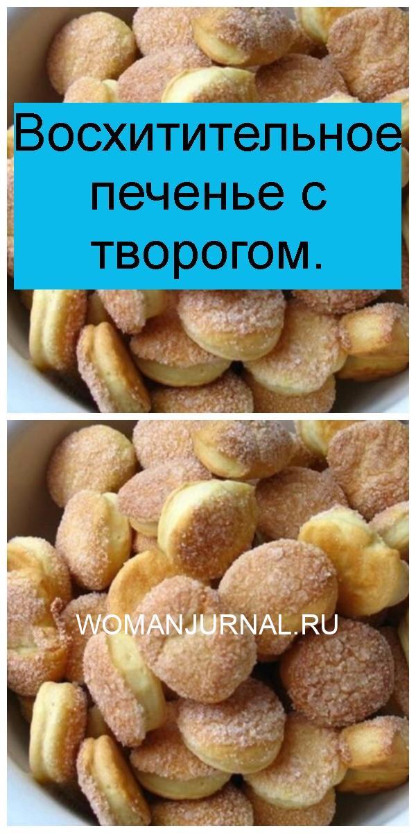 Восхитительное печенье с творогом 4