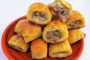 Ленивые пирожки с мясом 1