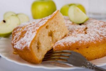 Манник с яблоками — вкус из детства 1