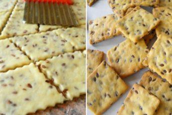 Рецепт галетного печенья с семенами льна: хрустящее, низкокалорийное и очень вкусное 1