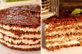 Торт «Тающая загадка» 1