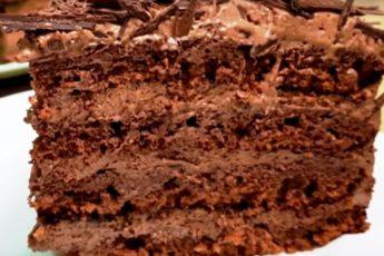 Торт на сковороде за 30 минут «Ленивый трюфель»