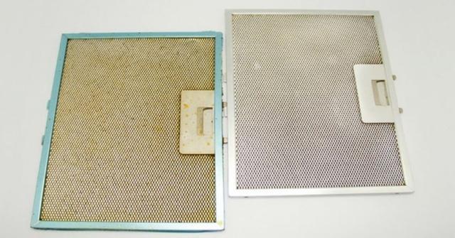 Как просто, быстро и недорого очистить решетку вытяжки от налипшего жира 1